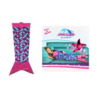 Zeemeermin deken voor kinderen